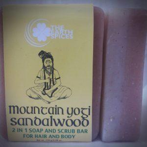 Mountain Yogi Sandalwood Soap and Scrub bar