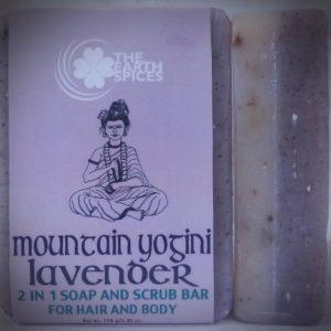 Mountain Yogini Lavender Soap and Scrub Bar