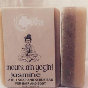 Mountain Yogini Jasmine Soap and Scrub Bar