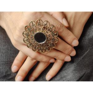 fancy modern ring